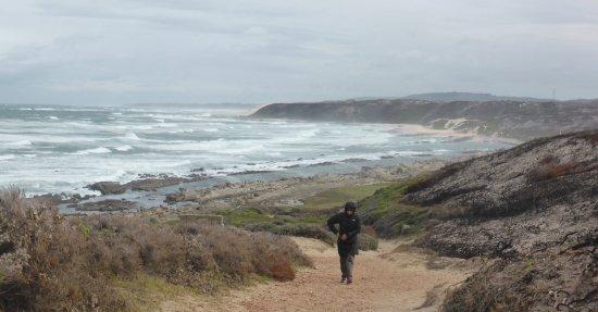 Port Elizabeth, Republika Południowej Afryki: Rugged coast walk