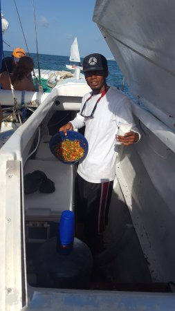 Caye Caulker, بليز: Who's up for Ceviche?