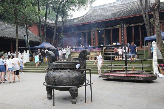 Leshan, China: pray court