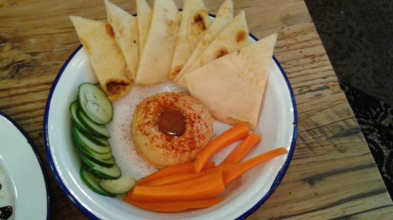 Canal Winchester, Οχάιο: Hummus plate