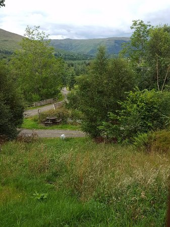 Lochearnhead, UK: view from decking
