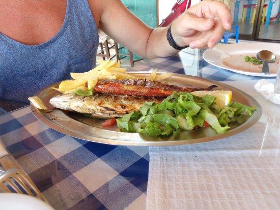 Alikes: Mix de poissons grillés (pr 1 personne)