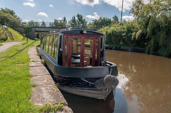 Burscough, UK: boat