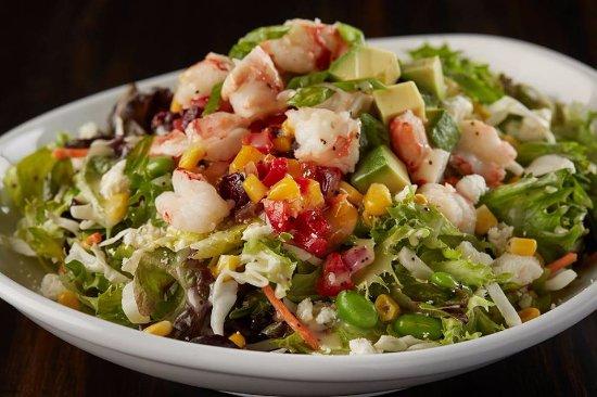 Williams Lake, Canada: Lobster Avocado Salad