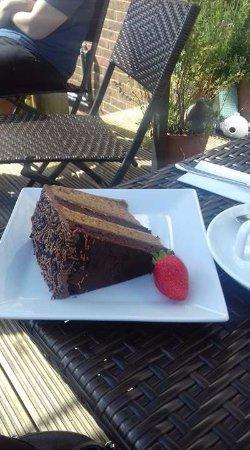 Pett, UK: Coffee cake