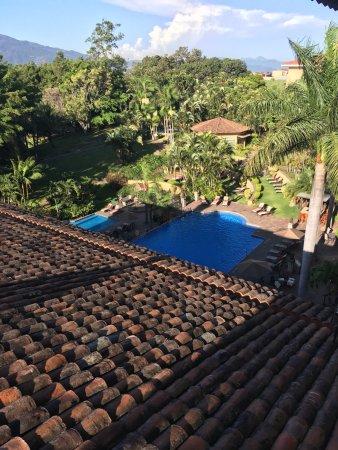 San Antonio De Belen, Kosta Rika: Pool view from 3rd floor lobby