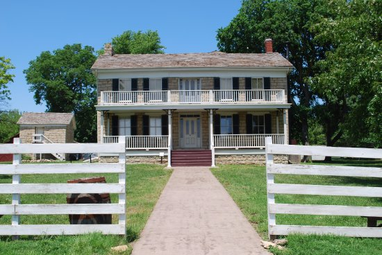 Olathe, KS: Tour the Mahaffie's farmhouse