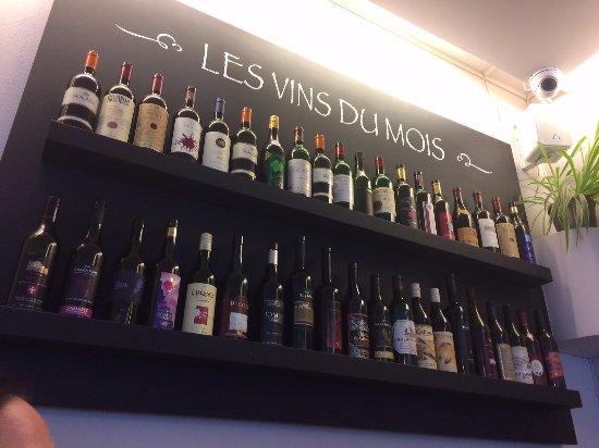 Chexbres, Schweiz: Les vins du mois