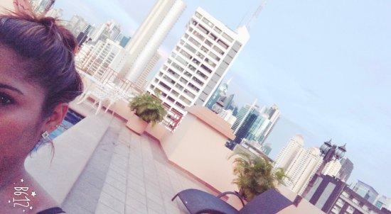 Hotel Coral Suites: 💋💪🏽😘espectacular vista desde la terraza del coral suites