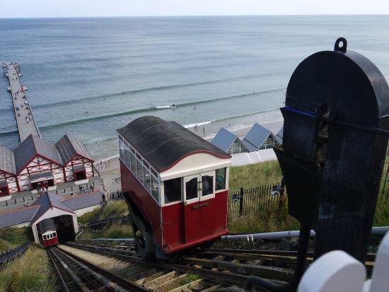 Saltburn-by-the-Sea, UK: Saltburn trams