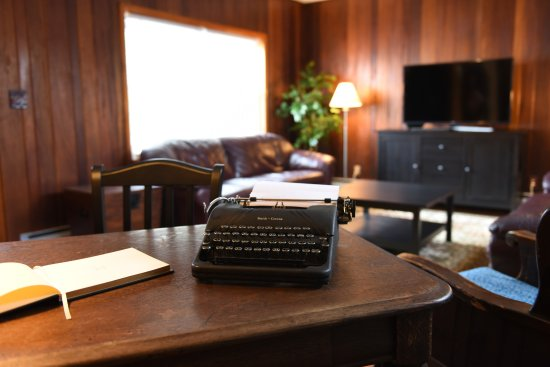 Portage, PA: Living Room and Guest Book