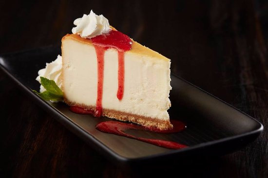 Terrace, Canada: New York style Cheescake