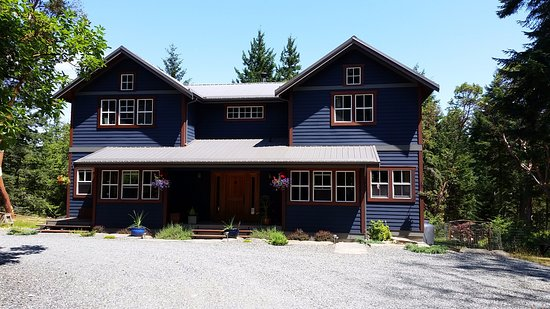 A west coast Bed and Breakfast, located on Gabriola Island, near Vancouver, Canada. Nestled on 1