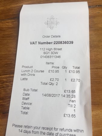 Stevenage, UK: The Bill