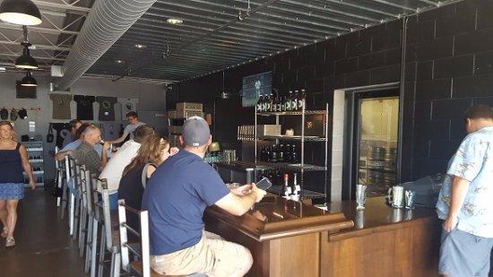 Saint Louis Park, MN: The main bar, right as you walk in the main entrance