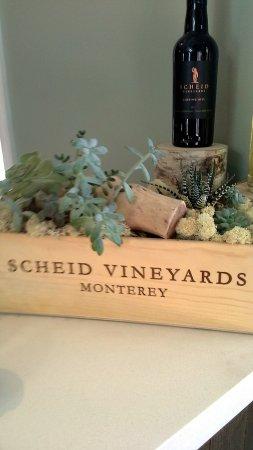 Greenfield, كاليفورنيا: In the tasting room
