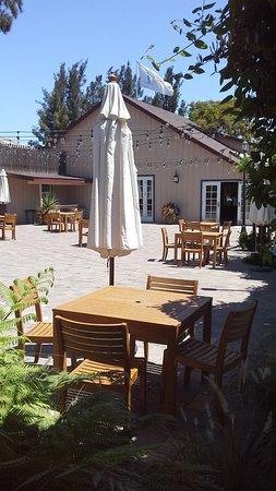 Greenfield, كاليفورنيا: The patio