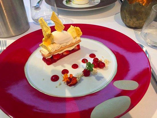 L'Hysope: Dessert de fraise dans tous ses états