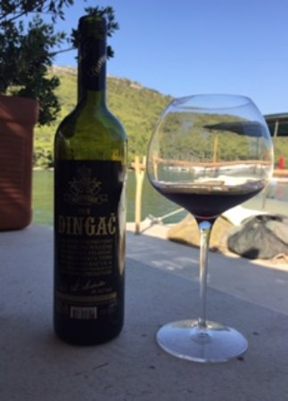Ston, Kroasia: Dingac wine--my favourite!