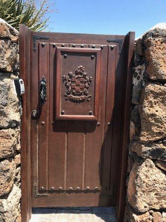 Guime, Spain: Entree deur