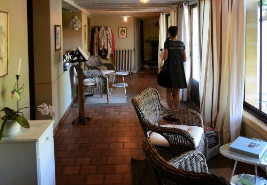 Maison de Marquay : Foyer