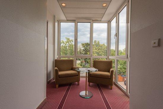 Hattersheim, Tyskland: Hotelflur