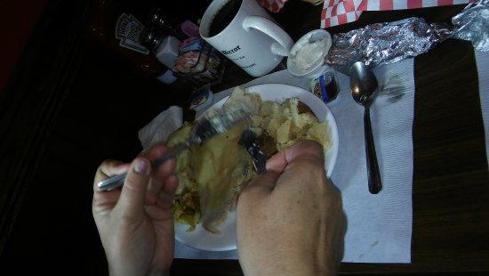 Cresson, Pensilvania: Complete turkey dinner.