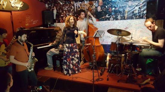 Charity Cafe: Jazz Blues night - amazing drummer