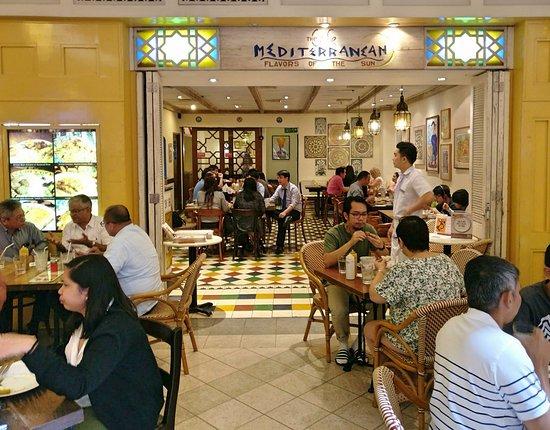 Good Lebanese Restaurant Near The Metro