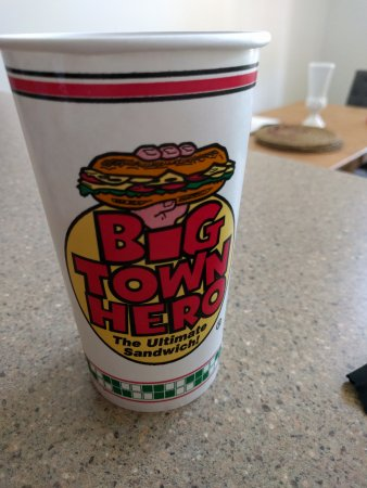 Albany, OR: Logo on beverage cup