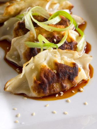 Radnor Hotel: Pan Fried Pork Dumplings at Glenmorgan