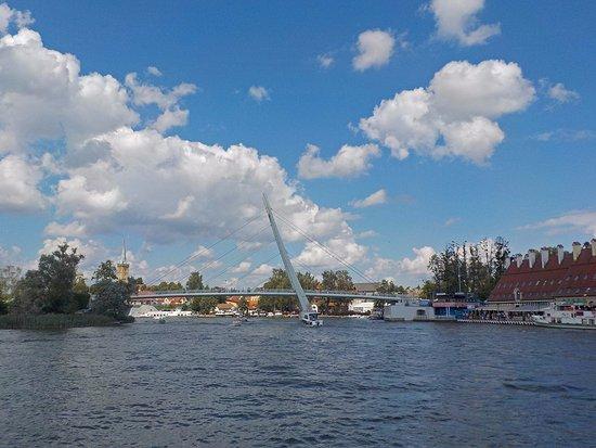 Миколайки, Польша: Widok z roweru wodnego