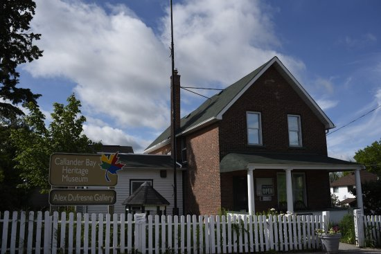 Callander, Canadá: Our museum, aka, the house and practice of Dr. Allan Roy Dafoe