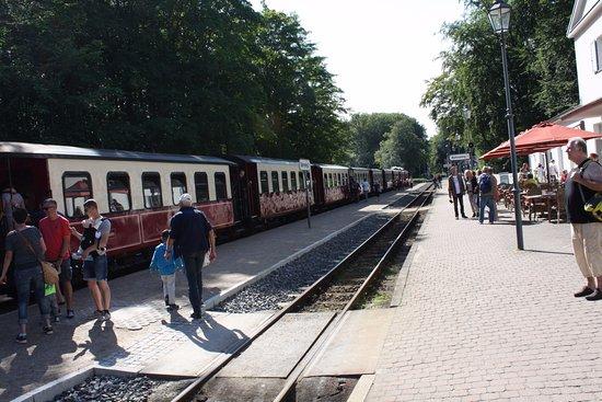 บาดโดเบอราน, เยอรมนี: Bahnhof Heiligendamm