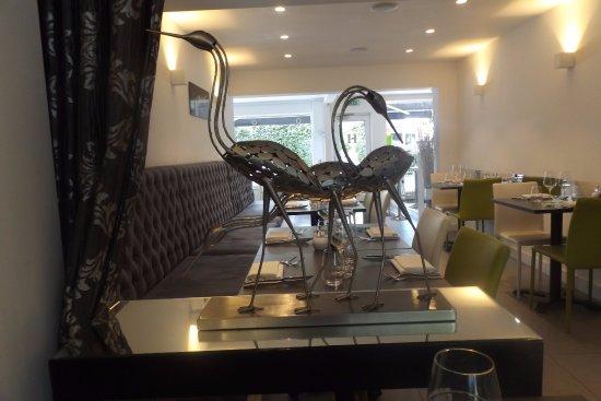Chorleywood, UK: The Herons in pride of place
