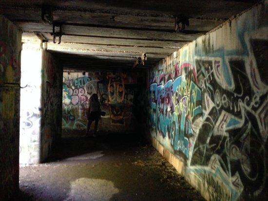 Jamestown, RI: the bunkers