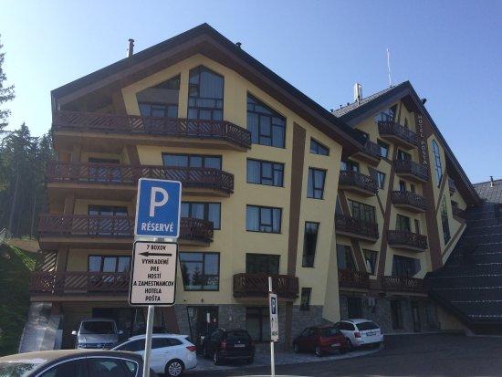 Demanovska Dolina, Slovakiet: Hotel Pošta
