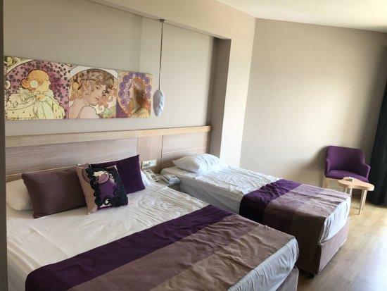 Sea Planet Resort & Spa : chambre
