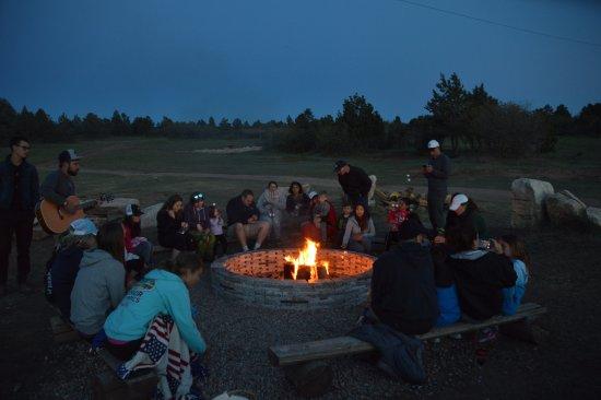 Zion Ponderosa Ranch Resort: Feux de camp musical