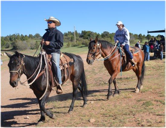 Zion Ponderosa Ranch Resort: Ballade en cheval (superbe)