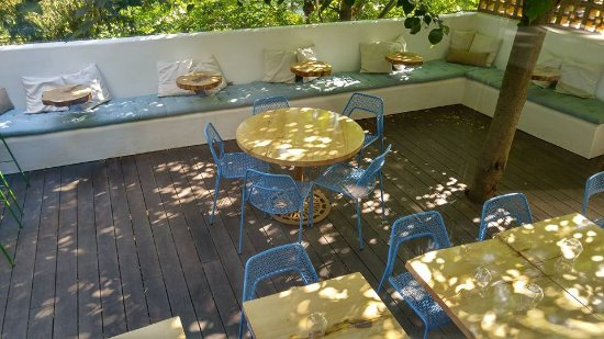 Bromont, Canada: a very appealing patio