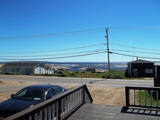 Blanc-Sablon, Kanada: Le grand balcon offre une vue sur la baie.