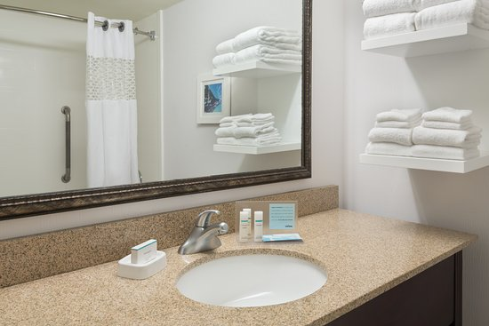 Hampton Inn Atlanta-Perimeter Center: Guest Bathroom