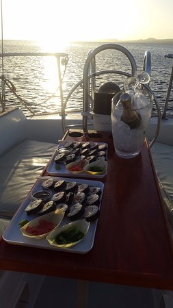 Kralendijk, Bonaire: Sushi &Champagner on a private sunset tour