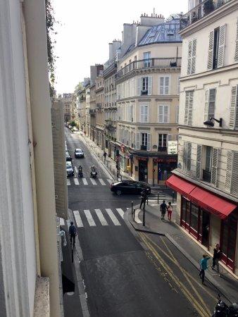 Hotel Joyce - Astotel: The street outside our window.