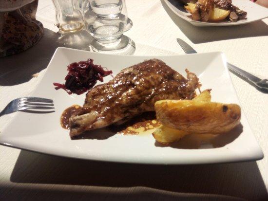 Monte Terminillo, Italia: Stinco di maiale