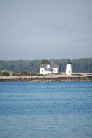 Prospect Harbor, ME: View from Elsa's Inn