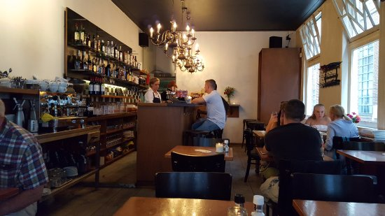 Van Kerkwijk: Its a small restaurant