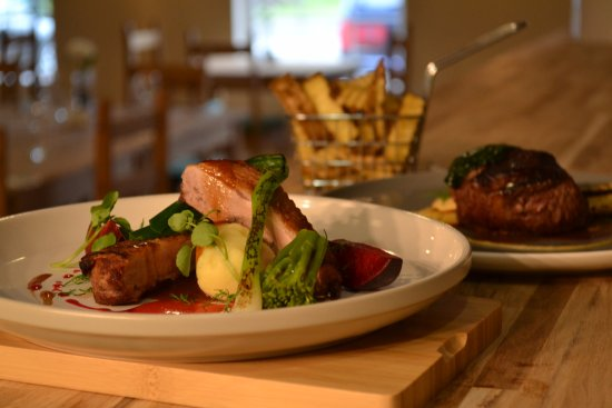 Ballyclare, UK: Pan Fried Duck Breast & Heart of Rump