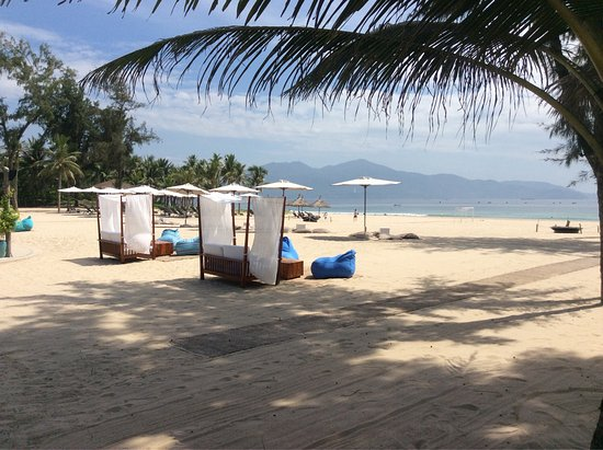 Great beach but lacks something